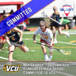 Mia George '21 joins sister Juliana '19 at Division I VCU
